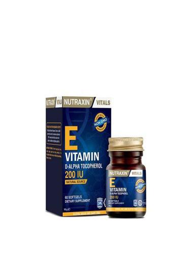 Nutraxin Nutraxin E Vitamin 60 Softjel Renksiz